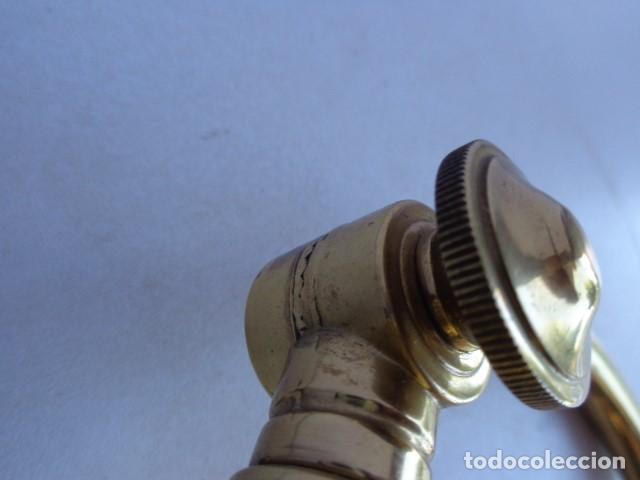 Vintage: ANTIGUA, AÑOS 60 RETRO VINTAGE PRECIOSA LAMPARA REGULABLE BRONCE LATON IMPECABLE Y FUNCIONANDO - Foto 8 - 135079734
