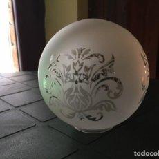 Vintage: TULIPA CRISTAL DE LAMPARA DE TECHO. Lote 135241098