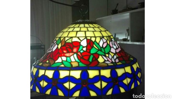 LÁMPARA DE TECHO ( ESTILO TIFFANY) (Vintage - Lámparas, Apliques, Candelabros y Faroles)