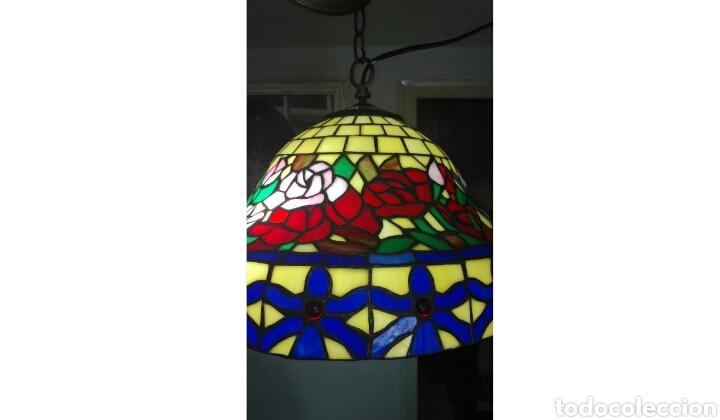 Vintage: Lámpara de techo ( Estilo Tiffany) - Foto 2 - 135598093