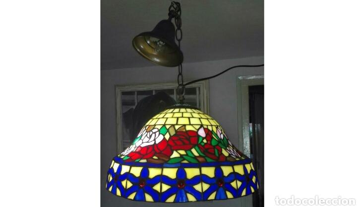 Vintage: Lámpara de techo ( Estilo Tiffany) - Foto 3 - 135598093
