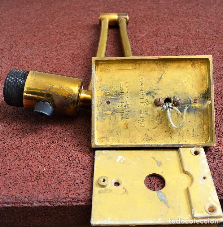 Vintage: APLIQUE HASEN LAMPS PARA METALARTE - Foto 10 - 135617438