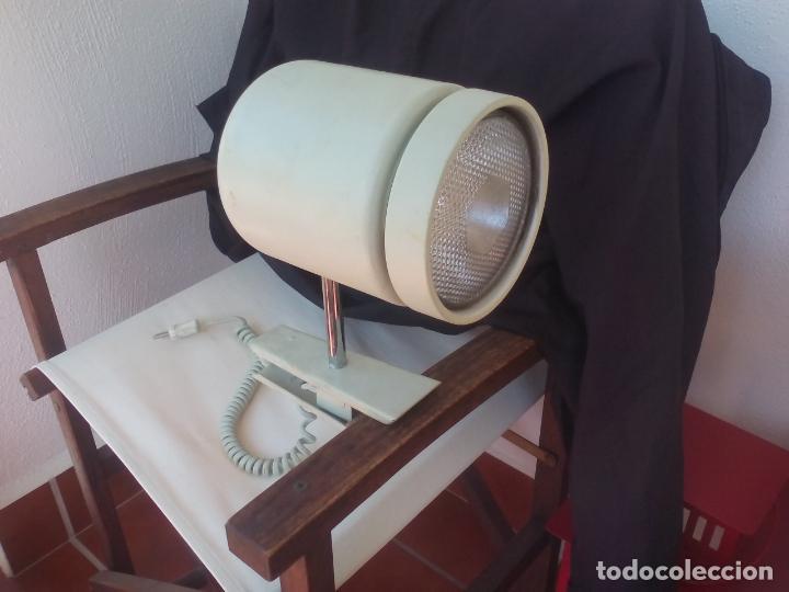 LAMPARA O FOCO DE SUJECIÓN POR PINZA, INDUSTRIAL. RETRO VINTAGE. (Vintage - Lámparas, Apliques, Candelabros y Faroles)