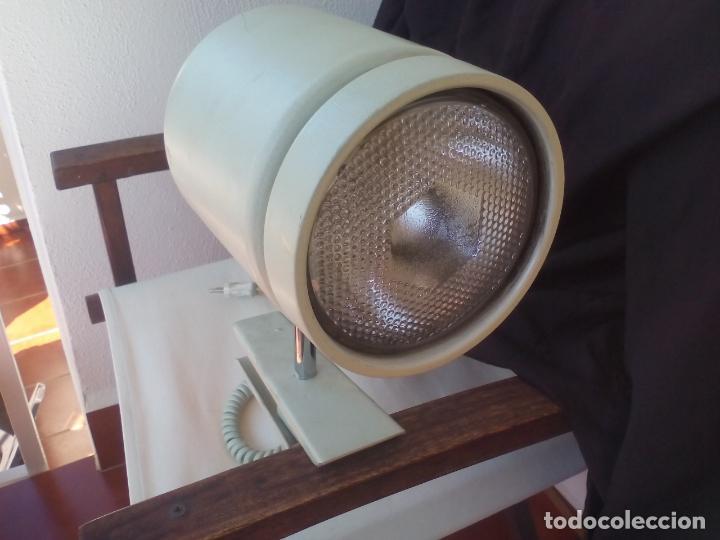 Vintage: LAMPARA O FOCO DE SUJECIÓN POR PINZA, INDUSTRIAL. RETRO VINTAGE. - Foto 2 - 135640599