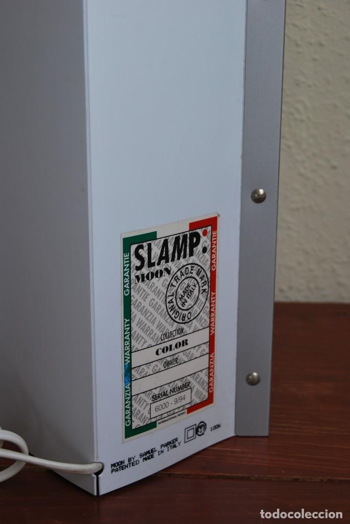 Vintage: ORIGINAL LÁMPARA DE SOBREMESA - SLAMP - MOON - DISEÑO DE SAMUEL PARKER - ITALIA - AÑOS 80 - Foto 5 - 136704946