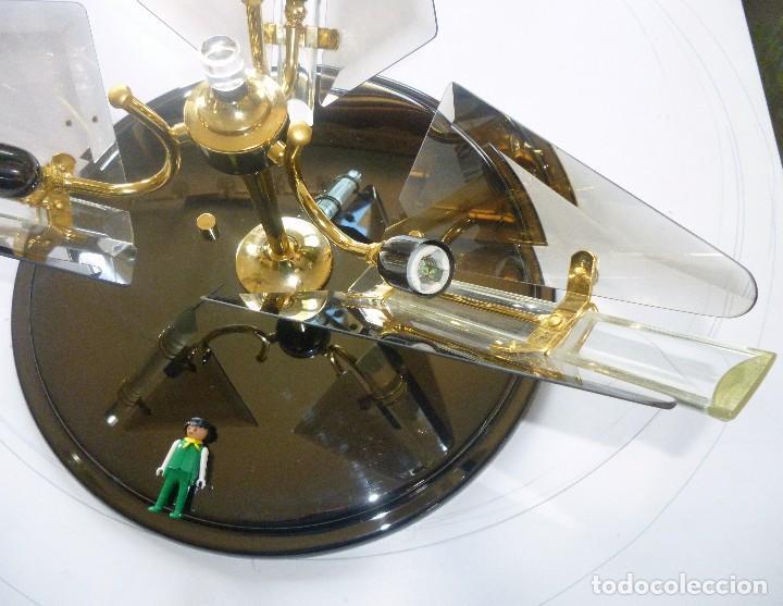 Vintage: BONITA LAMPARA DE TECHO CRISTALES VISELADOS FUNCIONA PERFECTAMENTE BUEN ESTADO VINTAGE AÑOS 70-80 - Foto 7 - 137112694