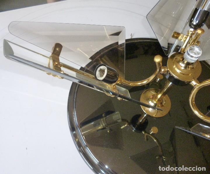 Vintage: BONITA LAMPARA DE TECHO CRISTALES VISELADOS FUNCIONA PERFECTAMENTE BUEN ESTADO VINTAGE AÑOS 70-80 - Foto 8 - 137112694