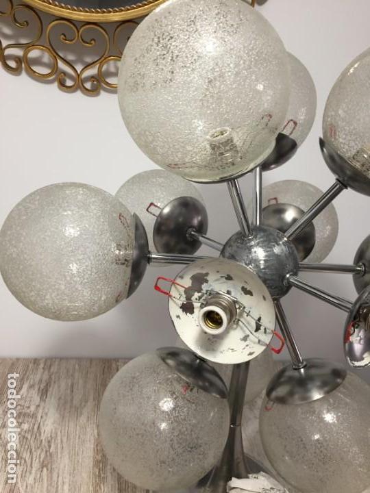 Vintage: LAMPARA SPUTNIK VINTAGE SPACE AGE - Foto 4 - 137344194
