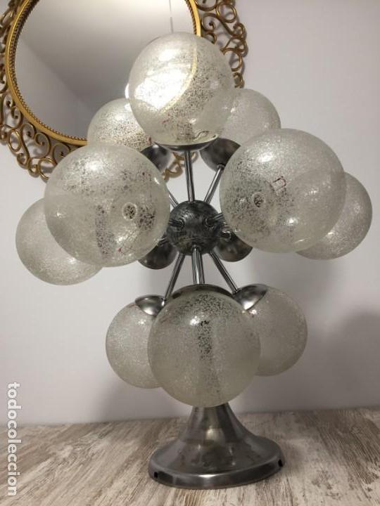 LAMPARA SPUTNIK VINTAGE SPACE AGE (Vintage - Lámparas, Apliques, Candelabros y Faroles)