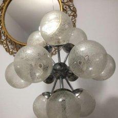 Vintage: LAMPARA SPUTNIK VINTAGE SPACE AGE. Lote 137344194