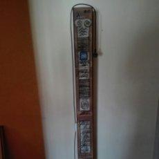 Vintage: LAMPARA DE PIE EN HIERRO Y CERAMICA . FIRMA AUTOR. Lote 137900229