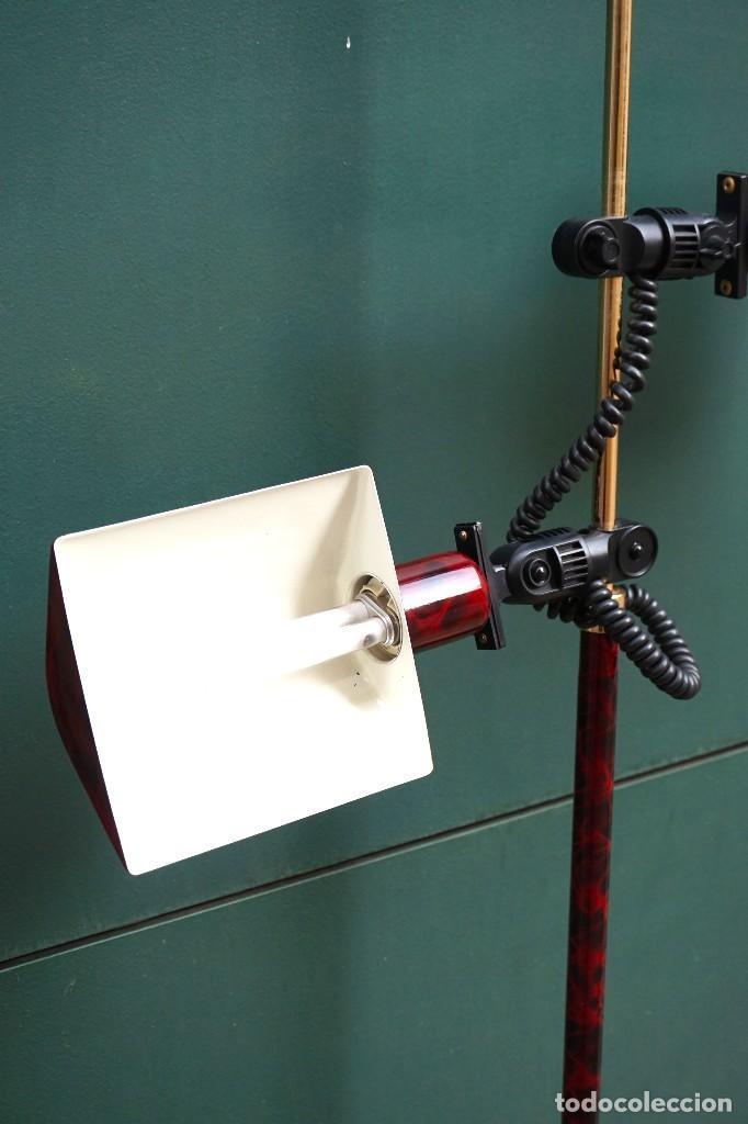 Vintage: lampara de pie focos vintage - Foto 3 - 138544850
