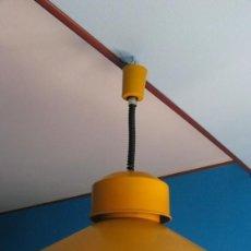 Vintage: LAMPARA REGULABLE DE TECHO. METALARTE. 54 CM DE DIAMETRO .ORIGINAL. MIQUEL MILA ?. Lote 146997985