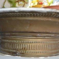 Vintage: LAMPARA PLAFON DE TECHO, DE LATON. AÑOS 30. Lote 139095170