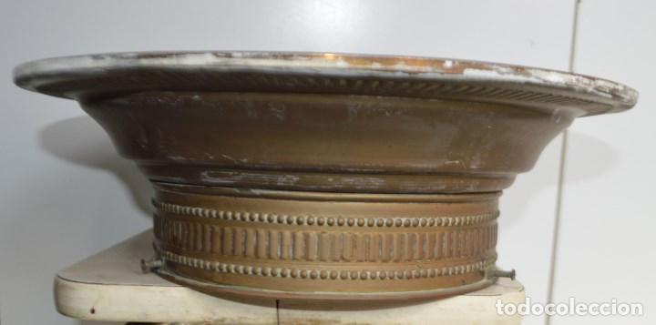 Vintage: LAMPARA PLAFON DE TECHO, DE LATON. AÑOS 30 - Foto 2 - 139095170
