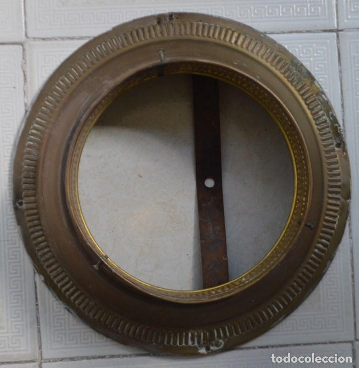 Vintage: LAMPARA PLAFON DE TECHO, DE LATON. AÑOS 30 - Foto 3 - 139095170