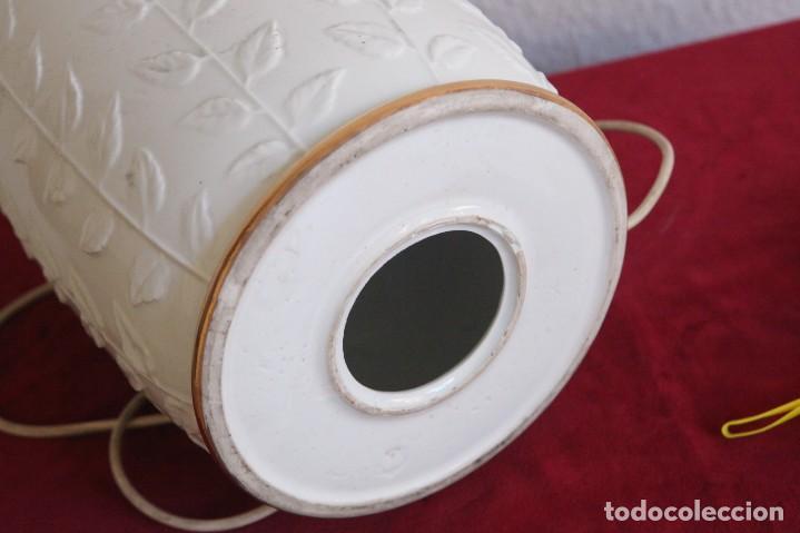 Vintage: Lampara de porcelana - Foto 2 - 139604170