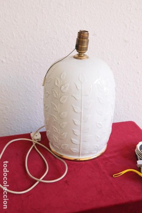 Vintage: Lampara de porcelana - Foto 5 - 139604170