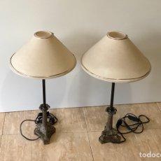 Vintage: PAREJA DE LÁMPARAS DE SOBREMESA VINTAGE.. Lote 139795609