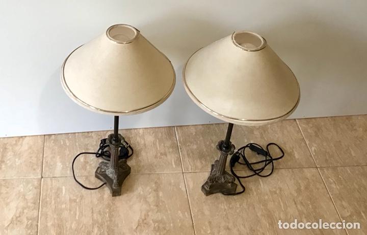 Vintage: Pareja de lámparas de sobremesa vintage. - Foto 2 - 139795609