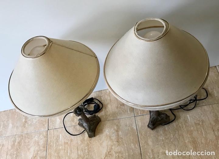 Vintage: Pareja de lámparas de sobremesa vintage. - Foto 3 - 139795609