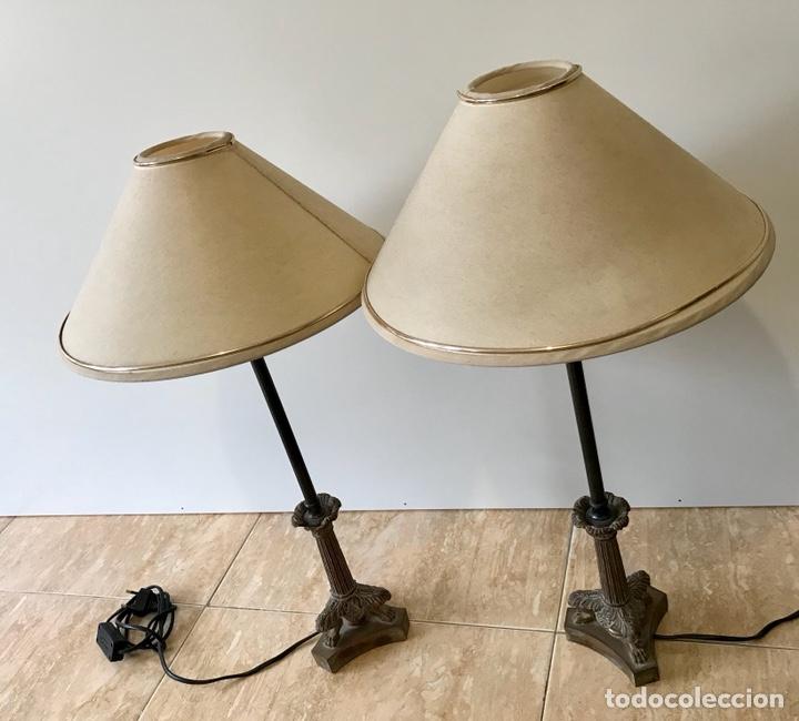 Vintage: Pareja de lámparas de sobremesa vintage. - Foto 8 - 139795609