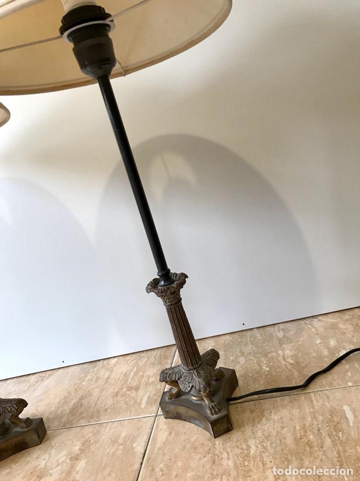 Vintage: Pareja de lámparas de sobremesa vintage. - Foto 9 - 139795609