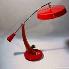 Vintage: LAMPARA FASE MADRID PENDULO LUPELA GEI LAMP VINTAGE FLEXO. Lote 139883882