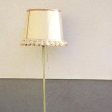Vintage: LAMPARA DE PIE VINTAGE CON MESITA Y REVISTERO.. Lote 140908430