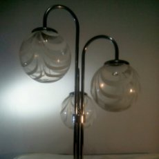 Vintage: LAMPARA DE SOBREMESA SPUTNIK SPACE AGE AÑOS 60/70. Lote 140936840