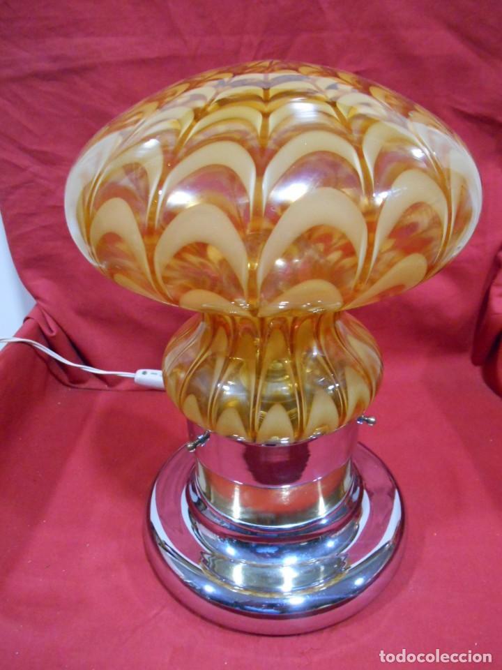 Vintage: EXTRAORDINARIA LAMPARA VINTAGE MURANO MAZZEGA - AÑOS 60 - ORIGINAL Y FUNCIONANDO - - Foto 2 - 141235114