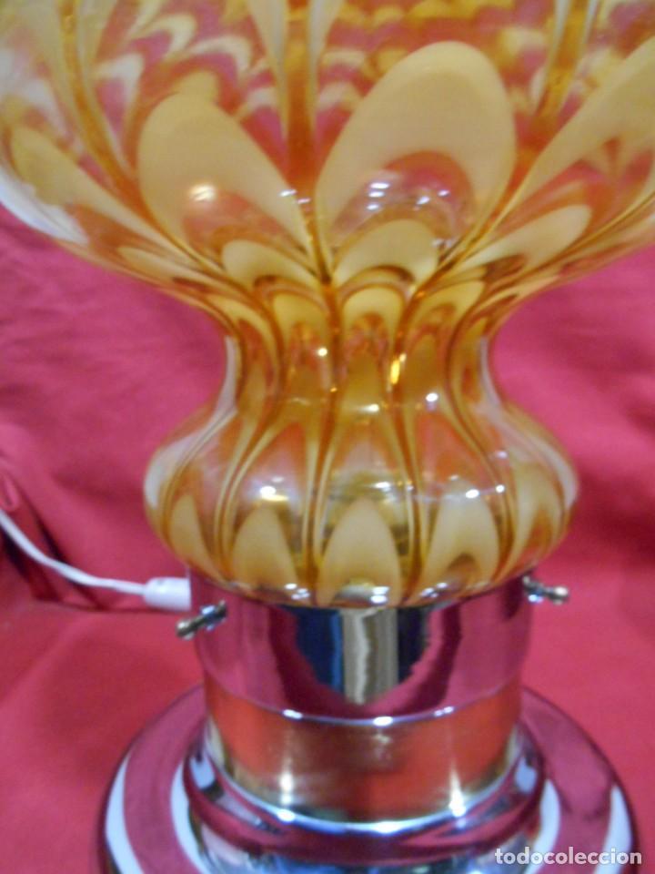 Vintage: EXTRAORDINARIA LAMPARA VINTAGE MURANO MAZZEGA - AÑOS 60 - ORIGINAL Y FUNCIONANDO - - Foto 6 - 141235114