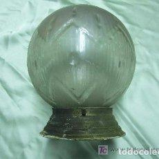 Vintage: LAMPARA, GLOBO MODERNISTA. Lote 141297658