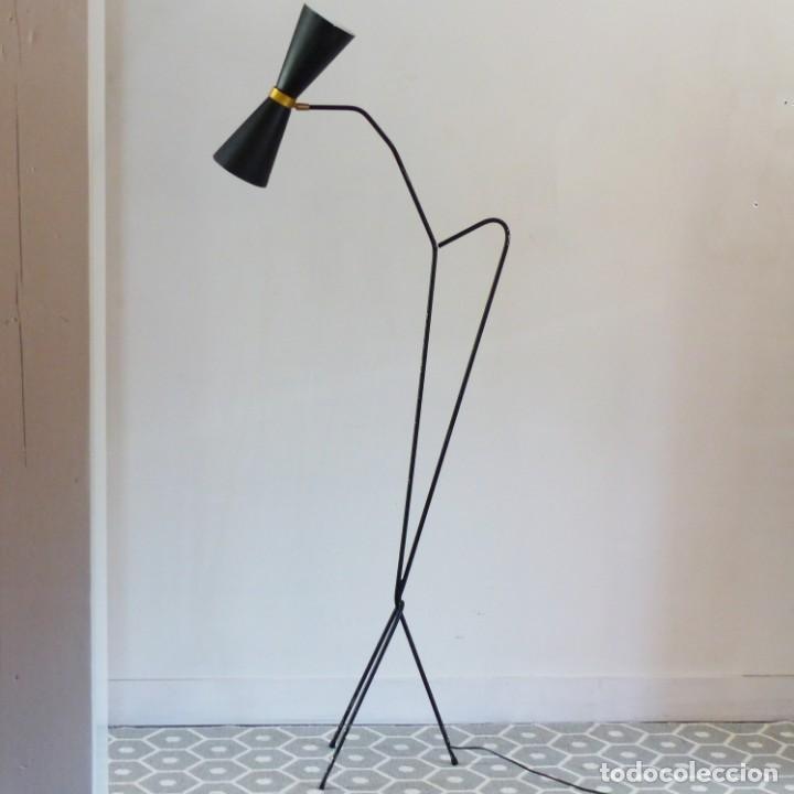 Vintage: Lámpara vintage años 50 Francia Guariche Mouille Boris Lacroix Michel Buffet Lunel - Foto 14 - 141587558