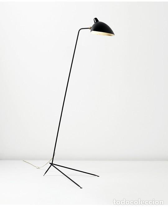 Vintage: Lámpara vintage años 50 Francia Guariche Mouille Boris Lacroix Michel Buffet Lunel - Foto 23 - 141587558
