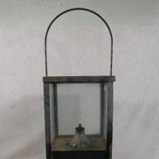 Vintage: FAROL EN METAL. Lote 141739342