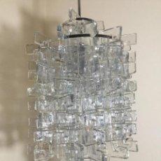 Vintage: LAMPARA VINTAGE LUSTRE ,CARLO NASON ,MAZZEGA VERCELLI ,MURANO GLASS1960. Lote 141758966