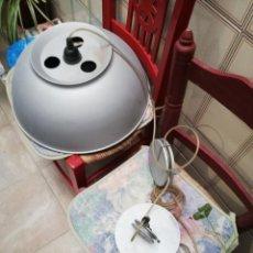 Vintage: GRAN LAMPARA INDUSTRIAL DE 40 CM.. Lote 141887994