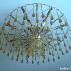 Vintage: LÁMPARA CRISTAL. Lote 142246498