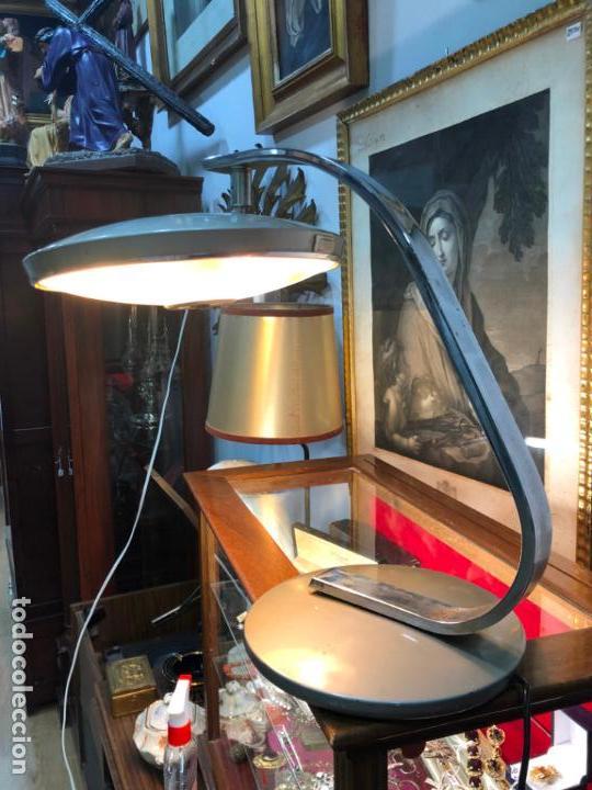 ANTIGUA LAMPARA FASE DE ESTUDIO (Vintage - Lámparas, Apliques, Candelabros y Faroles)