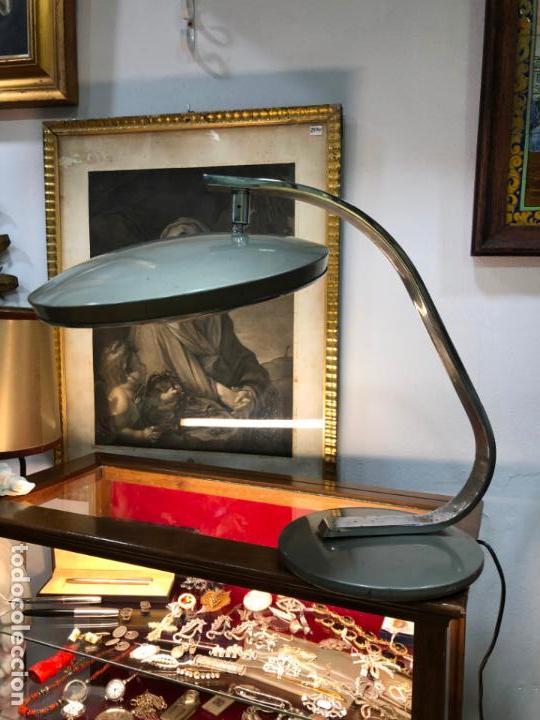 Vintage: ANTIGUA LAMPARA FASE DE ESTUDIO - Foto 2 - 142328050