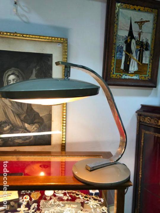 Vintage: ANTIGUA LAMPARA FASE DE ESTUDIO - Foto 3 - 142328050