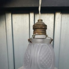 Vintage: LAMPARA DE TECHO ANTIGUA. Lote 142367445
