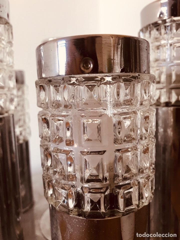 Vintage: Antigua lampara de diseño de techo o sobremesa años 70s Retro vintage - Foto 4 - 142391660