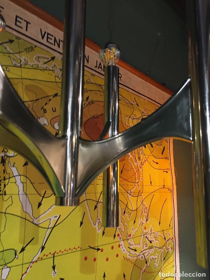 Vintage: Lámpara Gaetano Sciolari - Foto 11 - 142585214