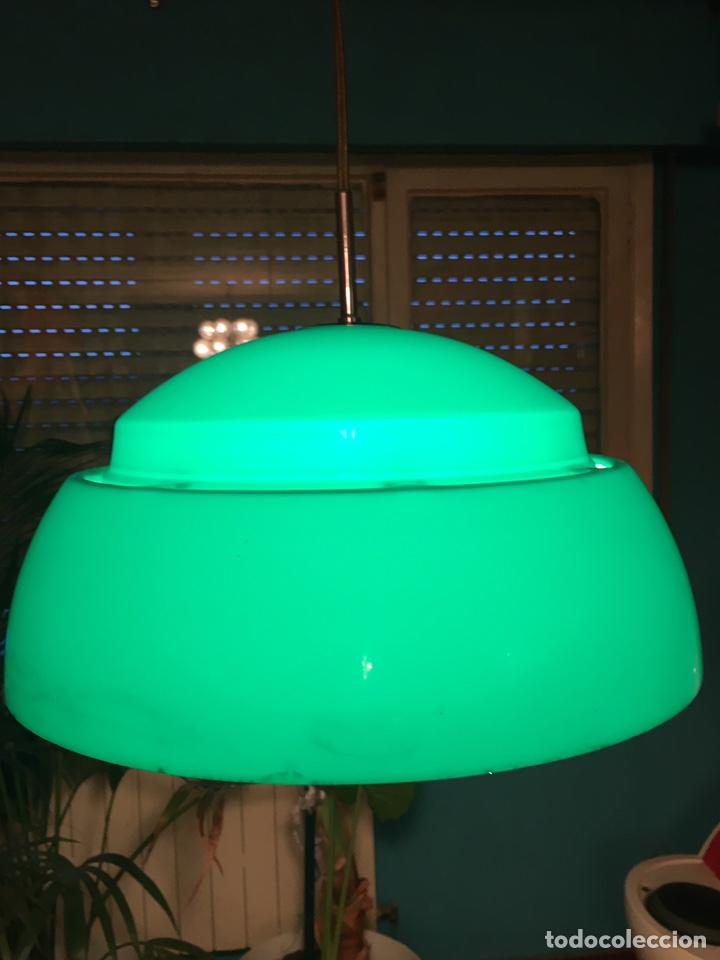 Vintage: Lámpara techo original metalarte-space age - Foto 14 - 143661356