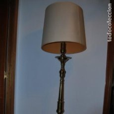 Vintage: LAMPARA PIE ANTIGUA. Lote 143941058
