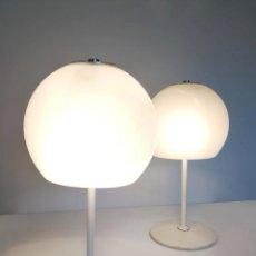 Vintage: PAREJA DE LAMPARAS SETA VINTAGE MIGUEL MILA TRAMO. Lote 143995438