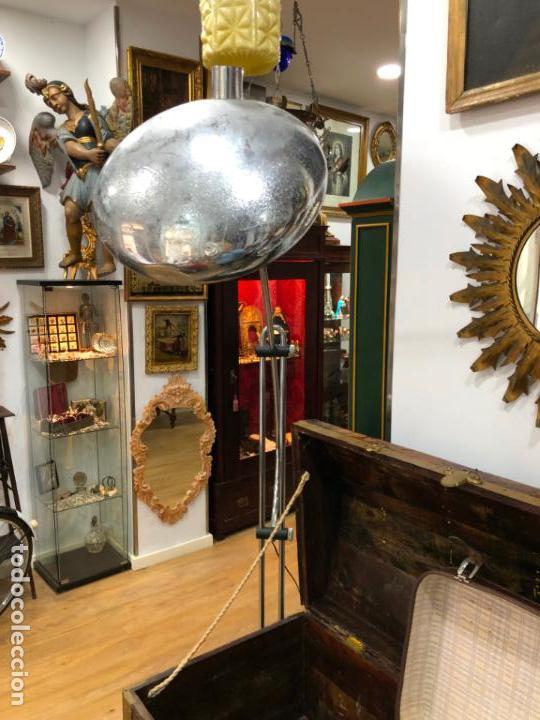 Vintage: FANTASTICA LAMPARA DE DISEÑO T-PONS AÑOS 60/70 SPACE - MEDIDA ALTO ABIERTA 196X135 CM - VINTAGE - Foto 16 - 144831474