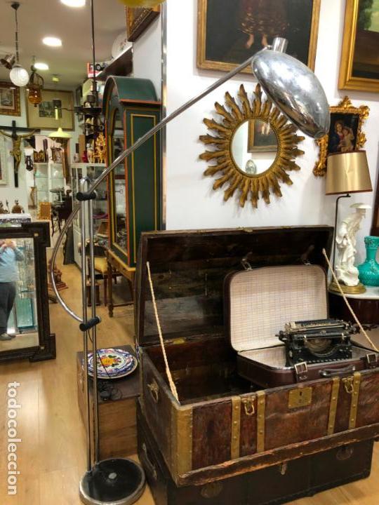 Vintage: FANTASTICA LAMPARA DE DISEÑO T-PONS AÑOS 60/70 SPACE - MEDIDA ALTO ABIERTA 196X135 CM - VINTAGE - Foto 17 - 144831474